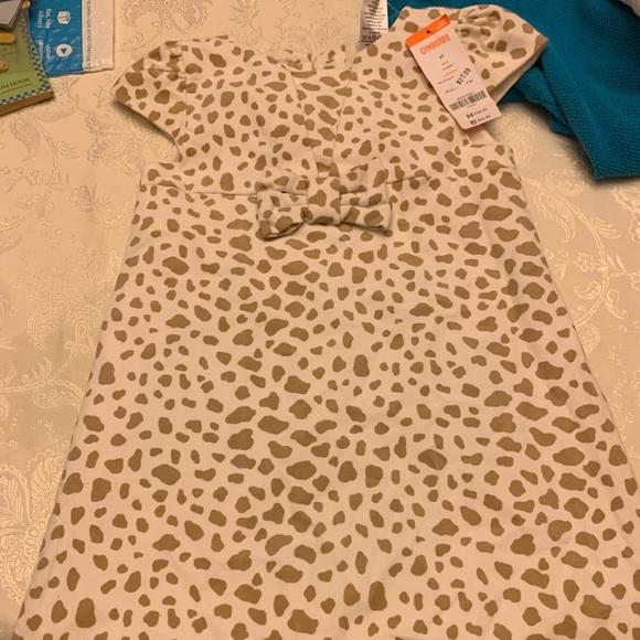 Gymboree Other - Gymboree leopard dress